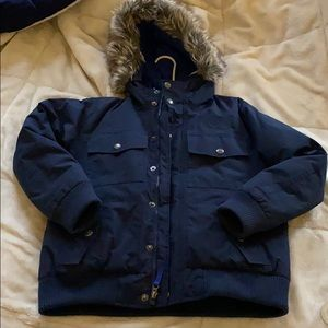 The North Face blue coat for boys